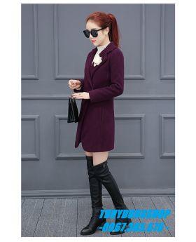 Áo khoác dạ nữ sành điệu GKD06