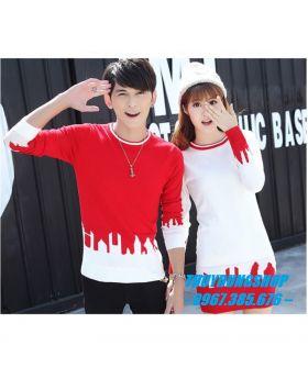 Áo váy len đôi nam nữ trẻ trung phong cách hàn quốc AC20