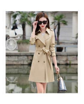 Áo măng tô nữ hàn quốc mẫu mới đẹp GMT02