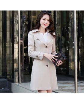 Áo măng tô nữ dáng dài eo thon hàn quốc đẹp GMT05