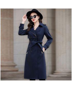 Áo khoác măng tô nữ cao cấp dáng dài hàn quốc phong cách châu âu GMT11