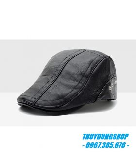Mũ beret da nam quý phái MNA26