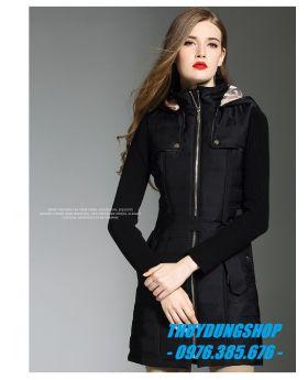 Áo phao nữ thời trang sang trọng NP17-Số 1-M