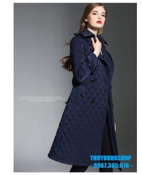 Áo phao nữ hàng hiệu dáng dài NP06
