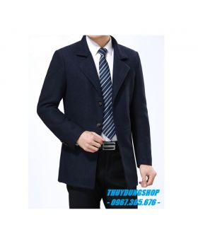 Áo khoác dạ nam dáng vest trẻ trung NAD43