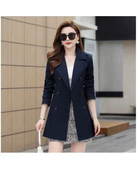 Áo măng tô nữ dáng lửng phong cách thời trang mùa xuân và mùa lạnh GMT22