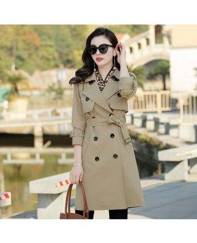 Áo măng tô nữ dáng dài Hà Nội GMT23