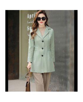 Áo khoác thu đông măng tô nữ Hàn Quốc thời trang GMT30