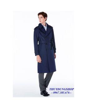 Áo măng tô nam siêu dài phong cách Châu Âu giản dị NMT62